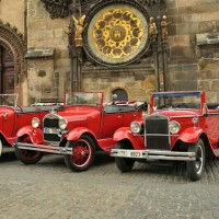Vintage Car Prague Tour