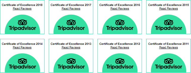 Certificate of Excellence since 2011