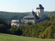 Voyage prague - Le château de Karlštejn