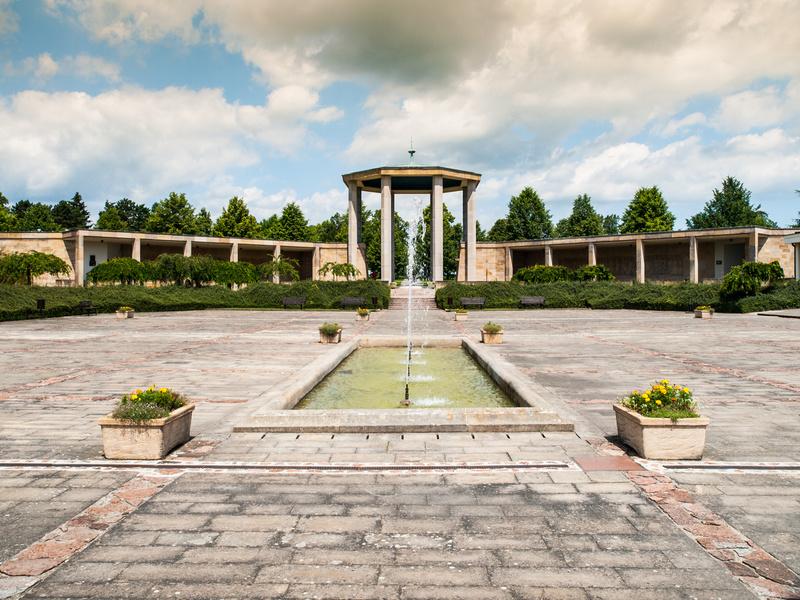 War memorial in Lidice