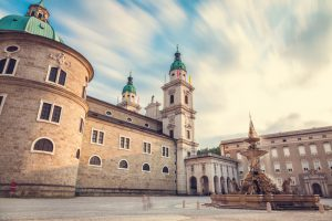 Cathedral Dom in Salzburg Austria