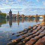 gondola boat trip in Prague