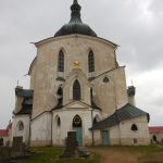 Zelena Hora Church in Zdar nad Sazavou
