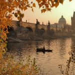gondola boat trip in Prague