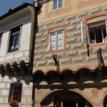 cesky krumlov day trips from prague: Renaissance buildings in Cesky Krumlov