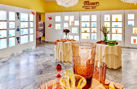 Karlovy Vary tours from Prague: Moser crystal factory