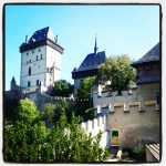 Enjoy great views from the Karlstejn Castle