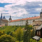 City Kutna Hora with St. Barbora cathedral in Czech republic