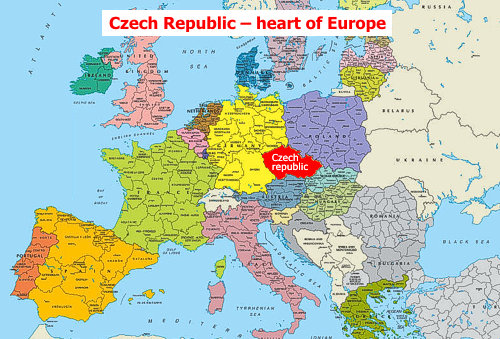 prague on world map The Czech Republic Facts Essentials prague on world map