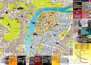 Original Map of Prague + Discount Coupons