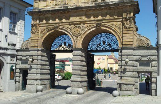 Pilsner Urquell Brewery - Main Gate