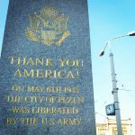"Monument ""Thank you America"" in Pilsen"