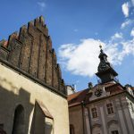 prague tours: old new synagogue in the jewish quarter