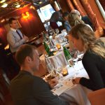 This is the only luxury dinner cruises in Prague where you will served at your table (instead of a buffet dinner).
