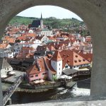 prague to vienna via cesky krumlov : travel back in time in cesky krumlov
