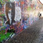 prague tours: john lennon wall