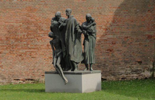 Terezin Concentration Camp - Monument