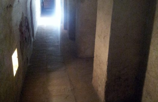 Terezin Concentration Camp - Tunnel in the Small Fortress