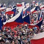 Velvet Revolution in 1989